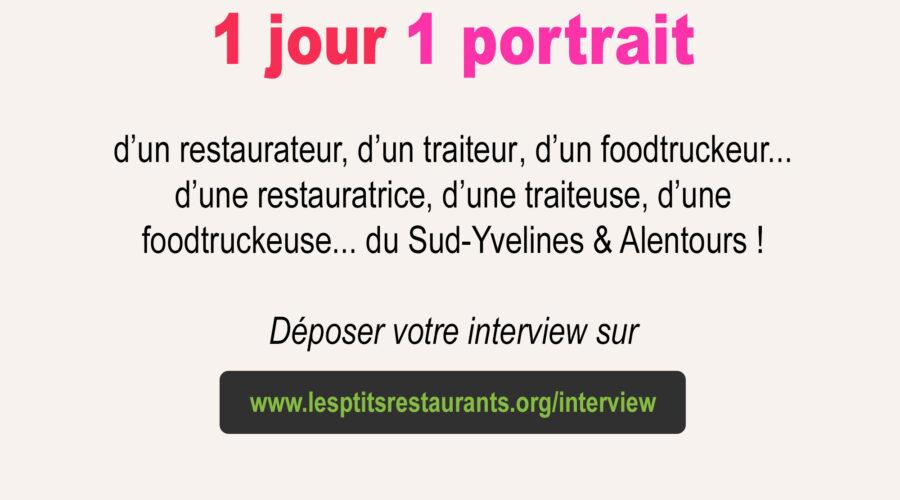 1 jour 1 portrait – Les p'tits restaurants